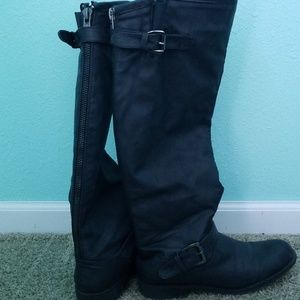 Size 8 Regular Black Riding Boots